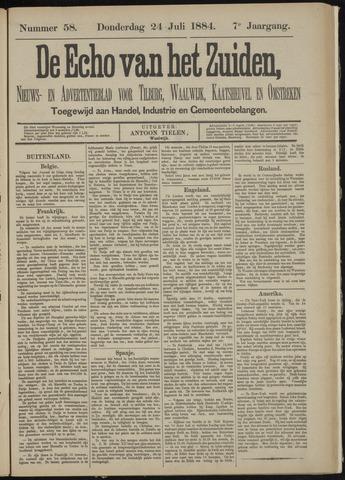 Echo van het Zuiden 1884-07-24