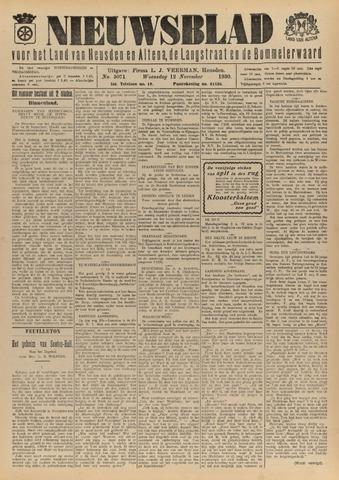 Nieuwsblad het land van Heusden en Altena de Langstraat en de Bommelerwaard 1930-11-12