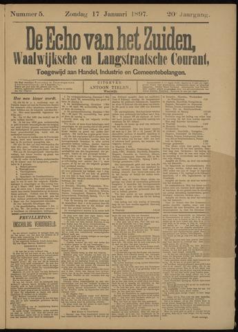 Echo van het Zuiden 1897-01-17