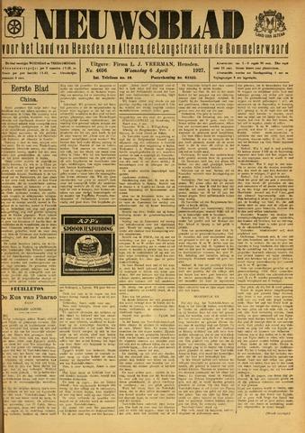 Nieuwsblad het land van Heusden en Altena de Langstraat en de Bommelerwaard 1927-04-06