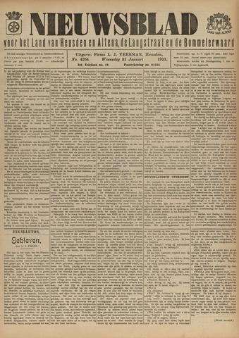 Nieuwsblad het land van Heusden en Altena de Langstraat en de Bommelerwaard 1923-01-31