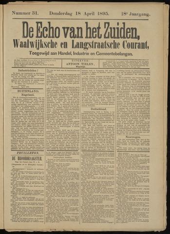 Echo van het Zuiden 1895-04-18