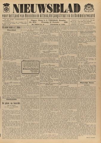 Nieuwsblad het land van Heusden en Altena de Langstraat en de Bommelerwaard 1930-11-19