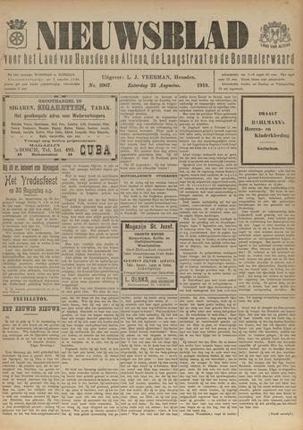 Nieuwsblad het land van Heusden en Altena de Langstraat en de Bommelerwaard 1919-08-23