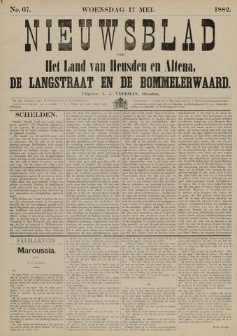 Nieuwsblad het land van Heusden en Altena de Langstraat en de Bommelerwaard 1882-05-17