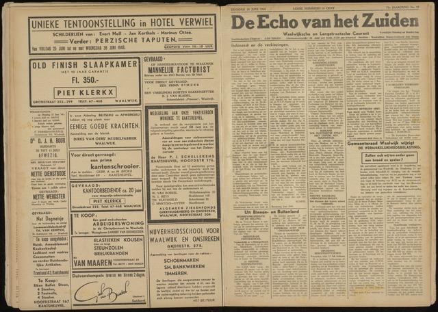 Echo van het Zuiden 1948-06-29