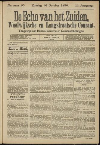 Echo van het Zuiden 1890-10-26