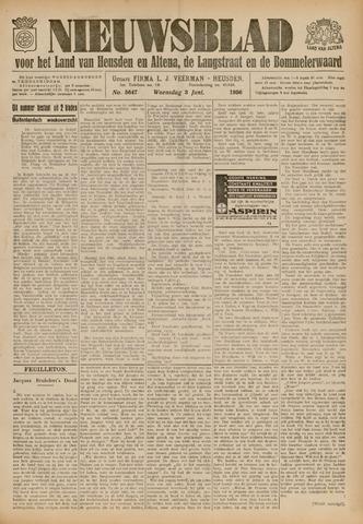 Nieuwsblad het land van Heusden en Altena de Langstraat en de Bommelerwaard 1936-06-01