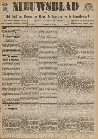Nieuwsblad het land van Heusden en Altena de Langstraat en de Bommelerwaard 1900-12-22