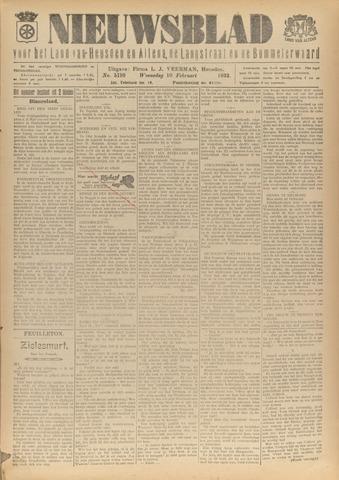 Nieuwsblad het land van Heusden en Altena de Langstraat en de Bommelerwaard 1932-02-10