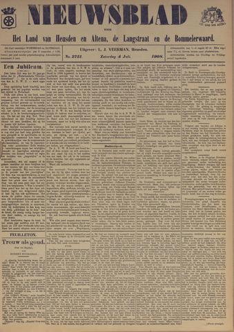 Nieuwsblad het land van Heusden en Altena de Langstraat en de Bommelerwaard 1908-07-04