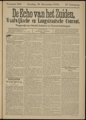 Echo van het Zuiden 1888-12-16
