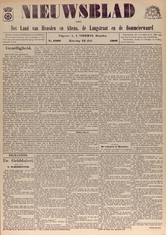 Nieuwsblad het land van Heusden en Altena de Langstraat en de Bommelerwaard 1909-07-24