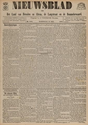 Nieuwsblad het land van Heusden en Altena de Langstraat en de Bommelerwaard 1900-05-23