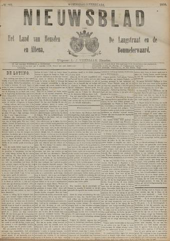 Nieuwsblad het land van Heusden en Altena de Langstraat en de Bommelerwaard 1890-02-05