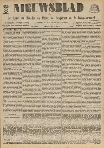 Nieuwsblad het land van Heusden en Altena de Langstraat en de Bommelerwaard 1904-07-02