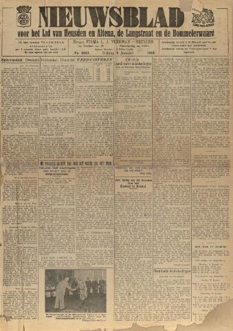 Nieuwsblad het land van Heusden en Altena de Langstraat en de Bommelerwaard 1943-01-08
