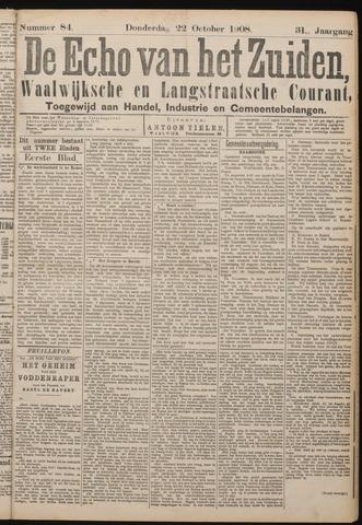 Echo van het Zuiden 1908-10-22