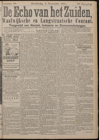 Echo van het Zuiden 1909-11-04