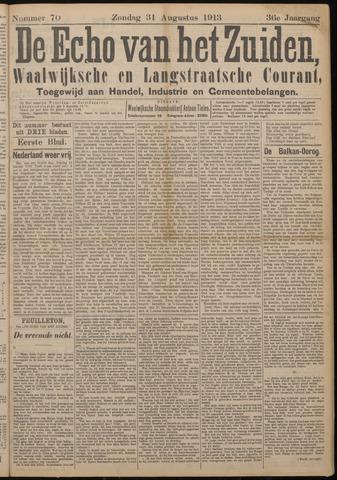 Echo van het Zuiden 1913-08-31