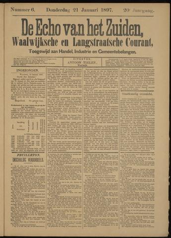 Echo van het Zuiden 1897-01-21
