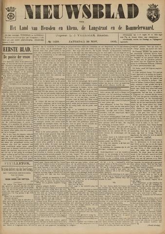 Nieuwsblad het land van Heusden en Altena de Langstraat en de Bommelerwaard 1895-11-30