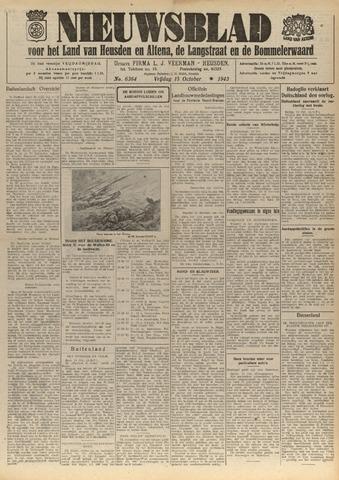 Nieuwsblad het land van Heusden en Altena de Langstraat en de Bommelerwaard 1943-10-15
