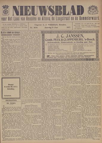 Nieuwsblad het land van Heusden en Altena de Langstraat en de Bommelerwaard 1917-06-09