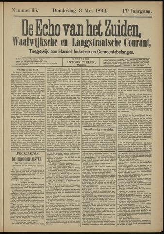 Echo van het Zuiden 1894-05-03
