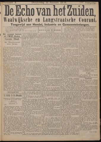 Echo van het Zuiden 1906-01-11