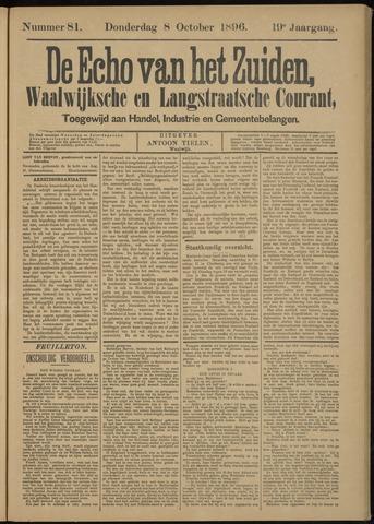 Echo van het Zuiden 1896-10-08
