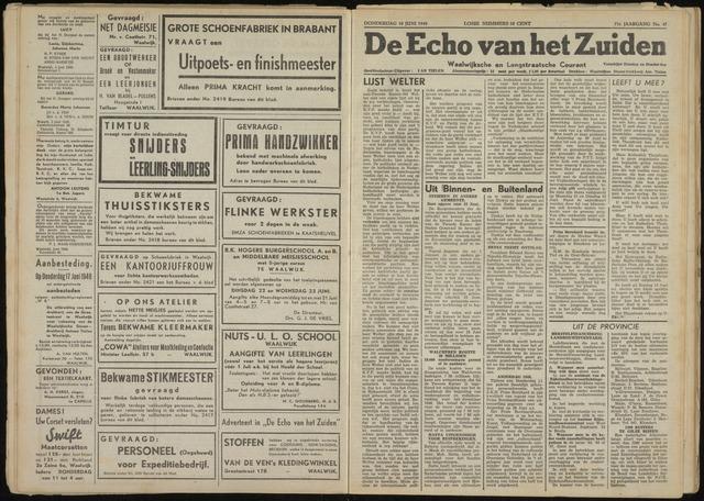 Echo van het Zuiden 1948-06-10