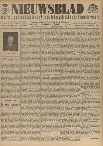 Nieuwsblad het land van Heusden en Altena de Langstraat en de Bommelerwaard 1924-01-23