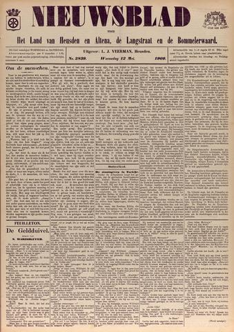 Nieuwsblad het land van Heusden en Altena de Langstraat en de Bommelerwaard 1909-05-12