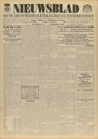 Nieuwsblad het land van Heusden en Altena de Langstraat en de Bommelerwaard 1928-09-07
