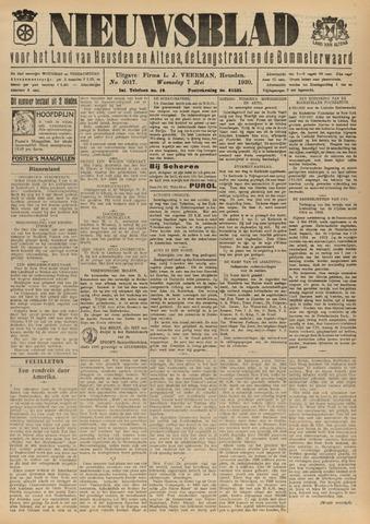 Nieuwsblad het land van Heusden en Altena de Langstraat en de Bommelerwaard 1930-05-07