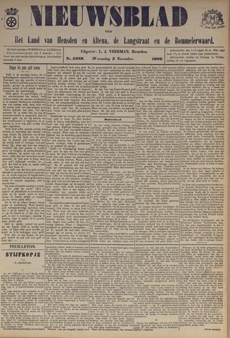 Nieuwsblad het land van Heusden en Altena de Langstraat en de Bommelerwaard 1909-11-03