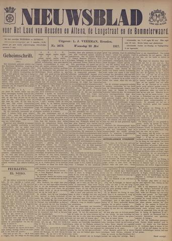 Nieuwsblad het land van Heusden en Altena de Langstraat en de Bommelerwaard 1917-05-23