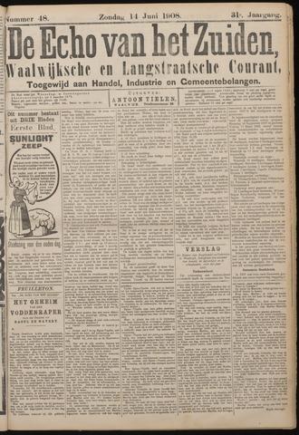 Echo van het Zuiden 1908-06-14