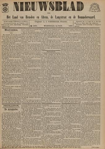 Nieuwsblad het land van Heusden en Altena de Langstraat en de Bommelerwaard 1900-11-14