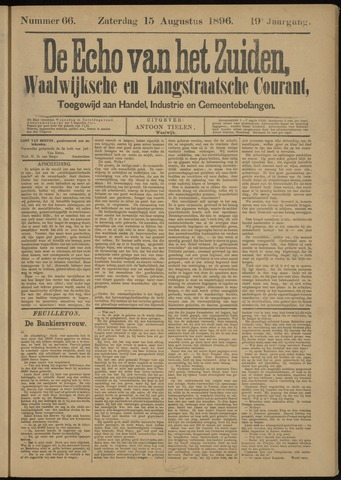 Echo van het Zuiden 1896-08-16