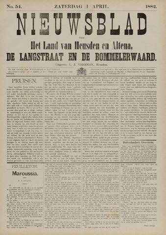 Nieuwsblad het land van Heusden en Altena de Langstraat en de Bommelerwaard 1882-04-01