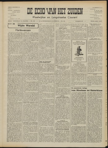 Echo van het Zuiden 1953-12-04