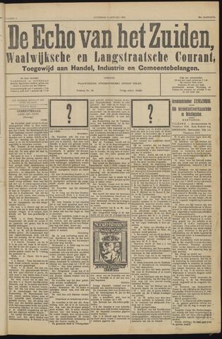 Echo van het Zuiden 1931-01-03
