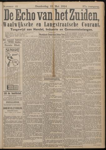 Echo van het Zuiden 1914-05-21