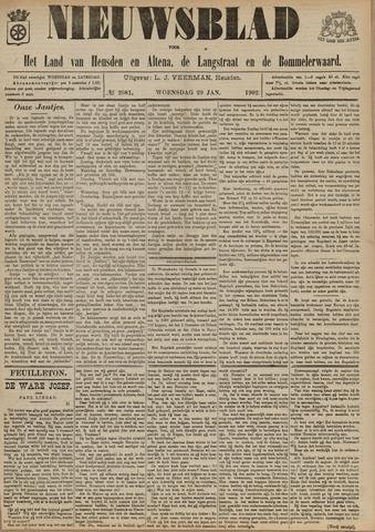 Nieuwsblad het land van Heusden en Altena de Langstraat en de Bommelerwaard 1902-01-29