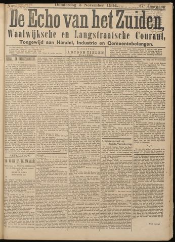Echo van het Zuiden 1904-11-03