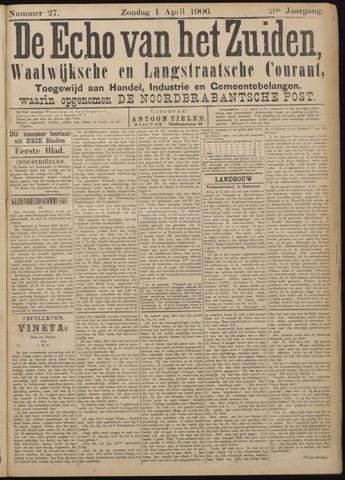 Echo van het Zuiden 1906-04-01