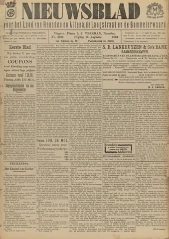 Nieuwsblad het land van Heusden en Altena de Langstraat en de Bommelerwaard 1924-08-15