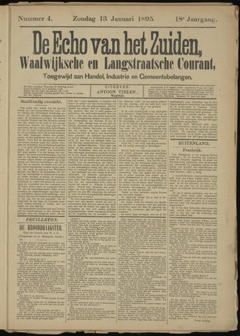 Echo van het Zuiden 1895-01-13